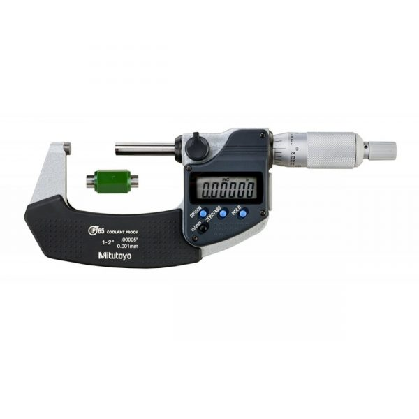 "Mitutoyo 293-331 - Coolant Proof Micrometer 1-2"""