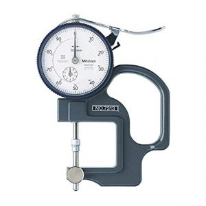 Mitutoyo - 7313 Dial thickness Gauge 0-10mm