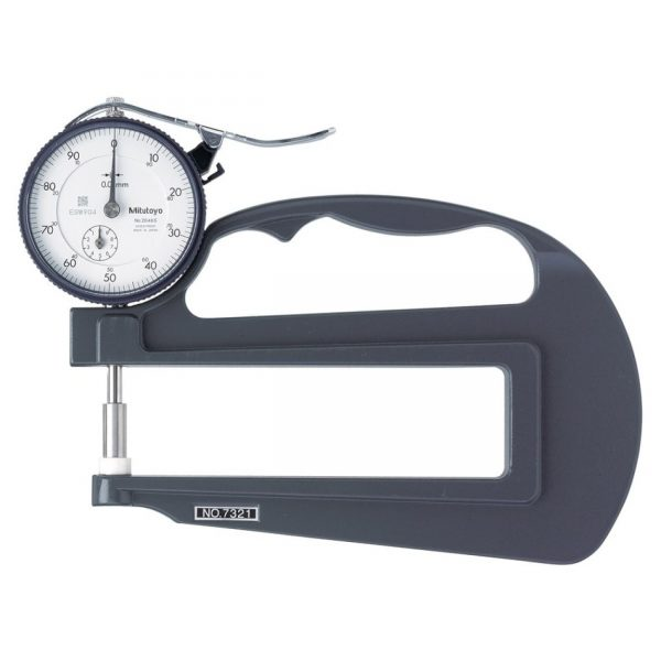 Mitutoyo - 7321 Dial thickness Gauge 0-10mm