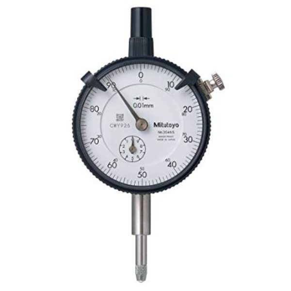Mitutoyo - 2046S - 0.01 mm Graduation Dial indicator