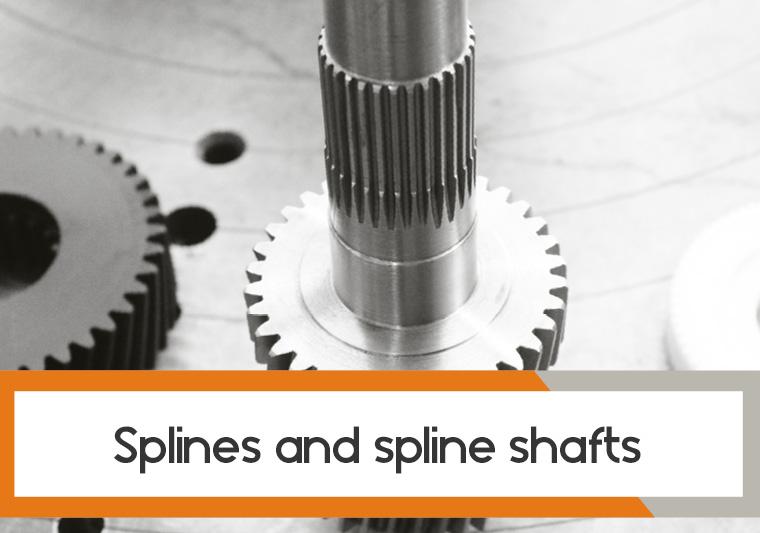 Splines and spline shafts