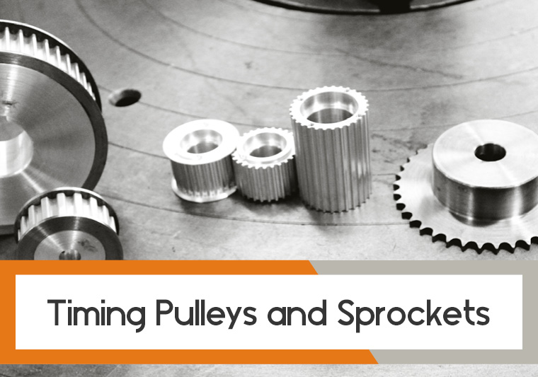 timings pulleys and sprockets