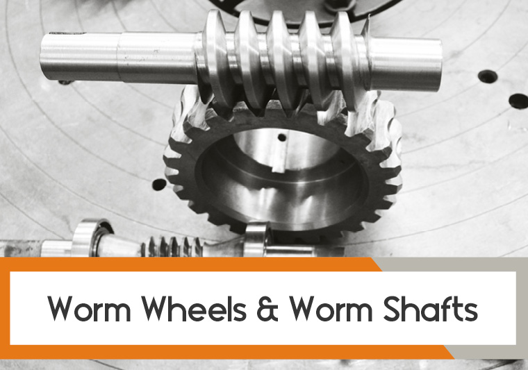 Worm sheels and worm shafts