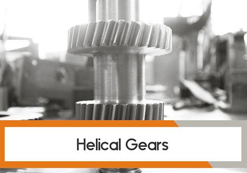 Helical Gear cutting